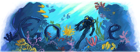 Jacques Cousteau's 100th Birthday