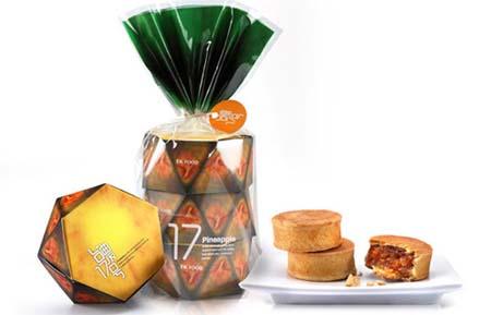 TK Food's pineapple pastry