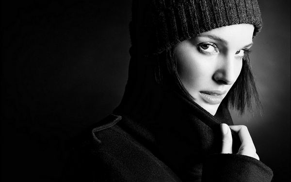 Grayscale Portrait Photography
