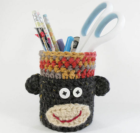 Monkey Pencil Cup