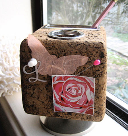 coco kelley pencil holder