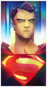 Super Man Digital Illustration