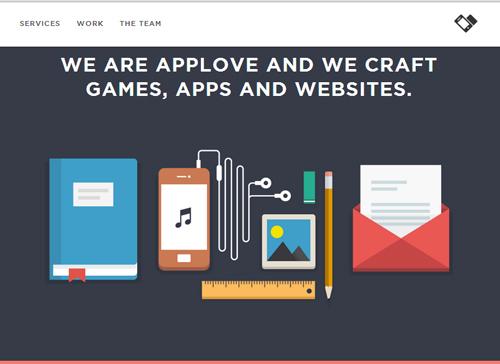 Flat web design-24