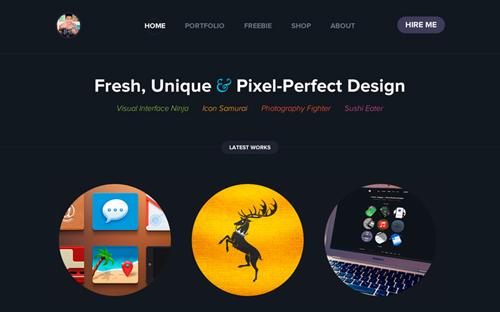 Flat web design-32