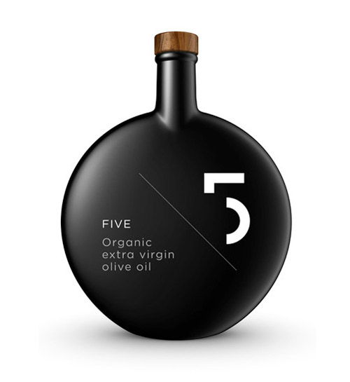 Five Organic Olive Oil