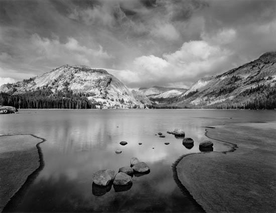 Tenaya Lake, Clouds, Afternoon, Yosemite, California