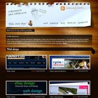 30+ Beautiful wood inspired Website designs