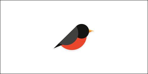 Flat logo design for inspiration