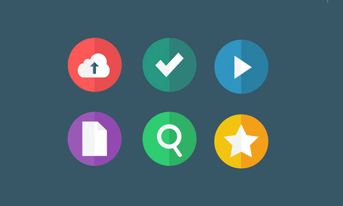 freebie: flat icons - part 2 (.psd/.sketch)