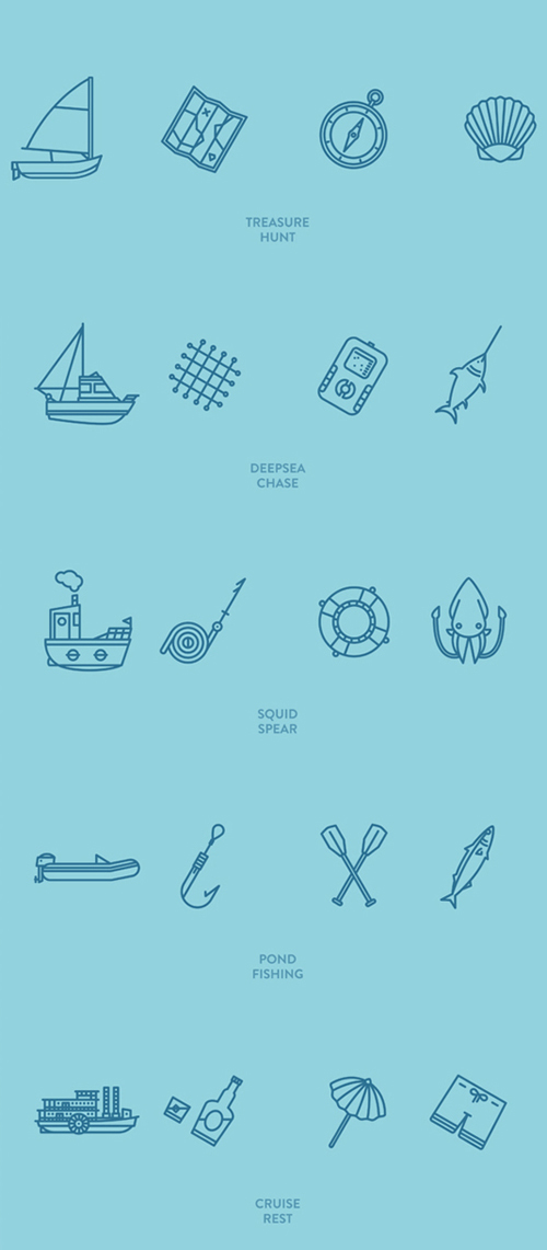Ocean Packages - Free icon sets