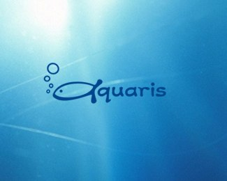 aquaris-beautifully-blue-logo-designs