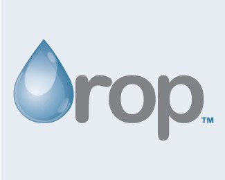 drop-beautifully-blue-logo-designs