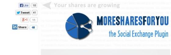 more social share