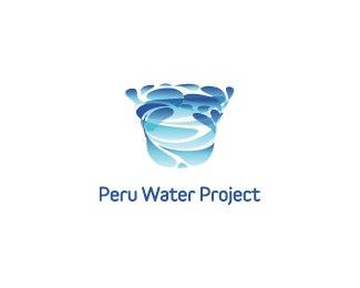 peru-water-project-beautifully-blue-logo-designs