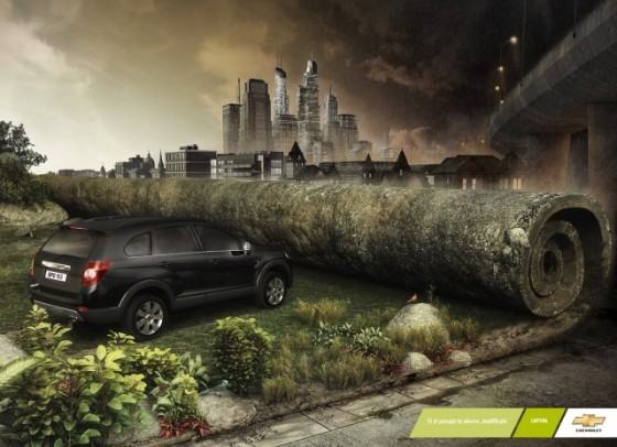 Change It o e1402143624150 Creative Car Advertising Ideas