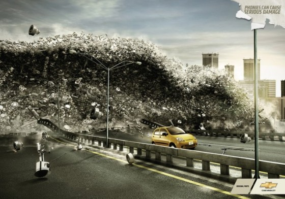 Damage from Tsunami o e1402144655471 Creative Car Advertising Ideas