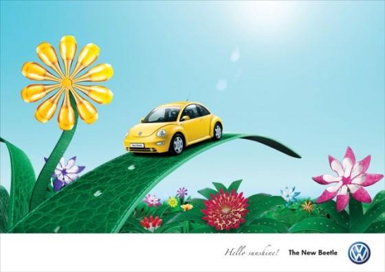 Fashion Garden o e1402148567241 Creative Car Advertising Ideas