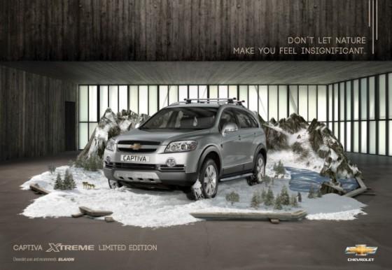 In Snow o e1402146943228 Creative Car Advertising Ideas