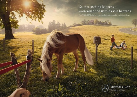 Intelligent Drive 1 o e1402151869782 Creative Car Advertising Ideas
