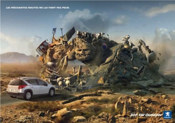 Malicious Roads o e1402146480122 Creative Car Advertising Ideas