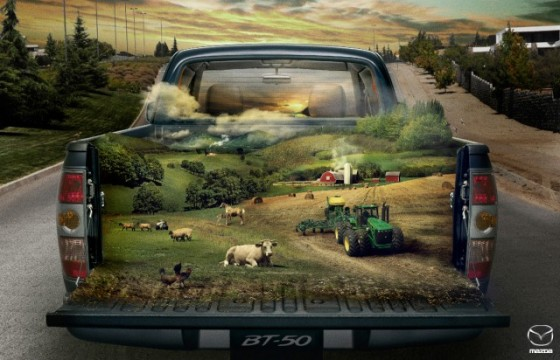 The Farm o e1402146763389 Creative Car Advertising Ideas