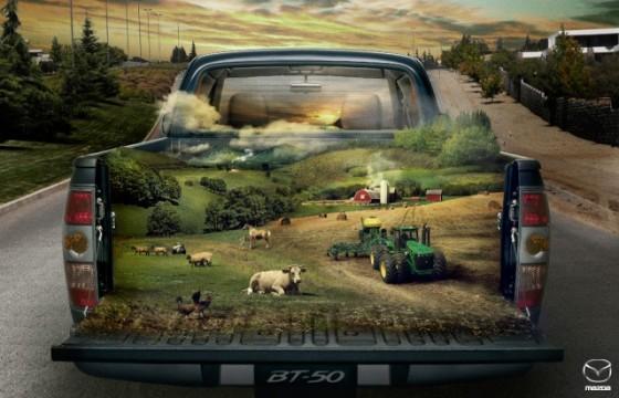 The Farm o e1402146763389 Creative Car Advertising Ideas