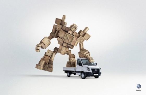 The Robot o e1402148276686 Creative Car Advertising Ideas