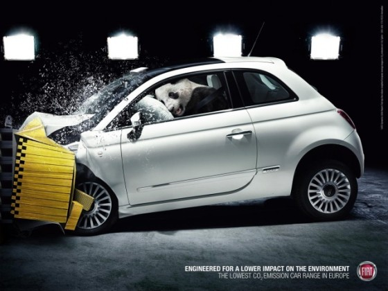Traffic Accident o e1402147399662 Creative Car Advertising Ideas